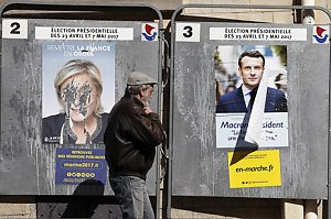 French Presidential Electoral Campaign Posters