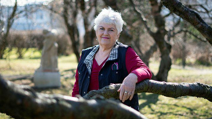 Þórunn Sveinbjörnsdóttir, formaður Landssamband eldri borgara.