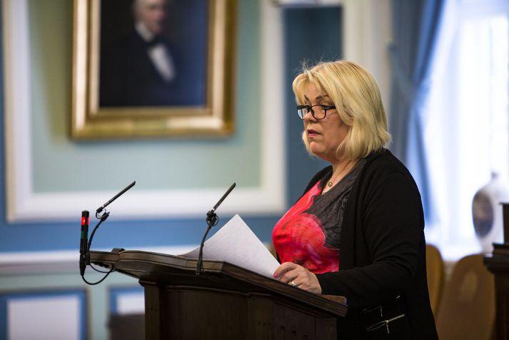 Lilja Rafney Magnúsdóttir hefur átt sæti á þingi frá árinu 2009.