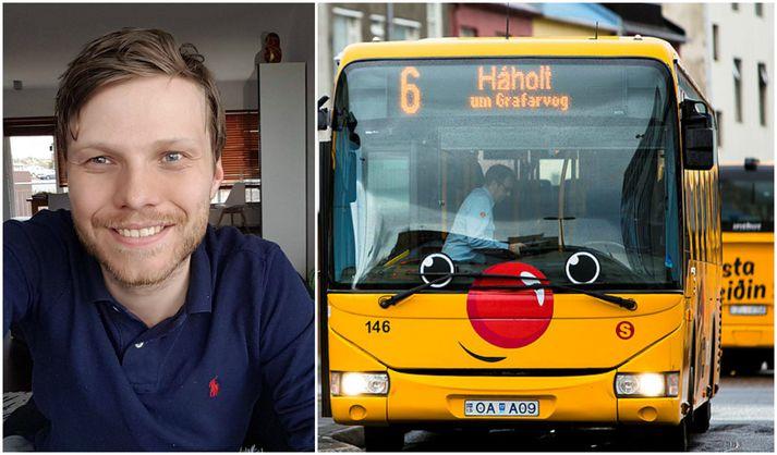 Hugsanlega verður farþegum boðið upp á ælupoka - ef þess gerist þörf - þegar næturakstur hefst að nýju.