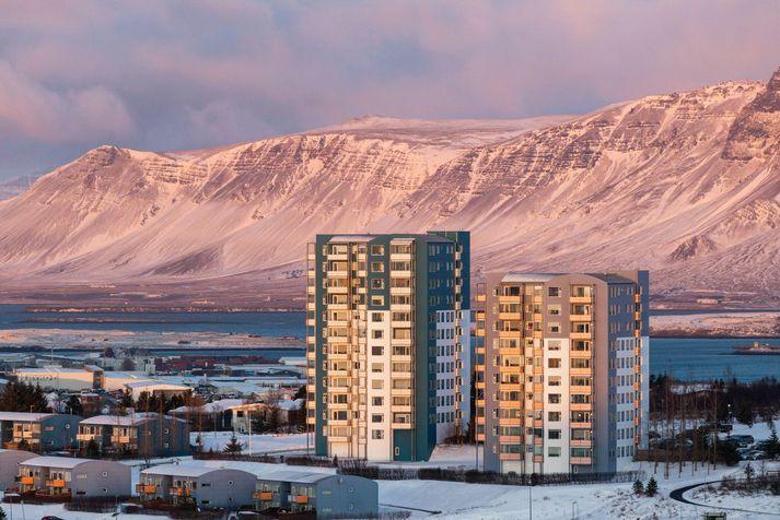 Snjókomu er spáð á laugardaginn næsta, en heldur kuldalegt verður þangað til.