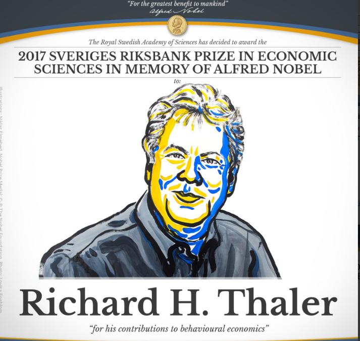 Richard Thaler starfar við Chicago-háskólann í Bandaríkjunum.