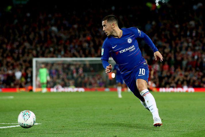 Eden Hazard var bestur í september.