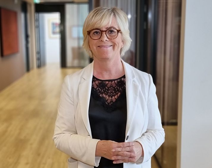 Birna Einarsdóttir bankastjóri Íslandsbanka