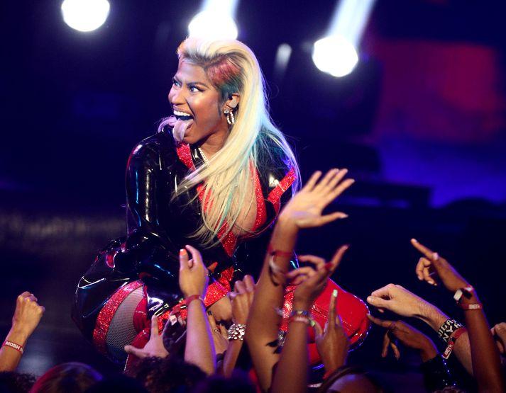 Nicki Minaj á tónleikum.