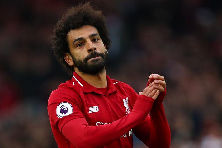 Mohamed Salah hefur beðið eftir marki í að verða tvo mánuði.