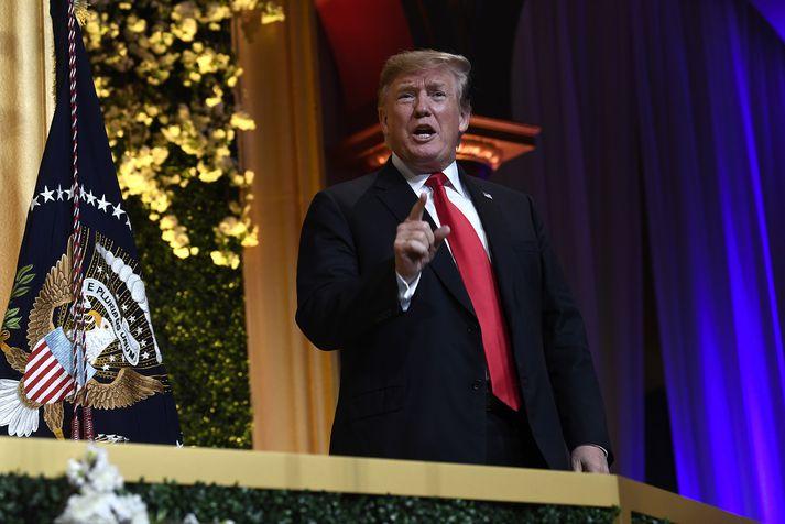 Trump segir ekki koma til greina að opinbera skattaskýrslur sínar.