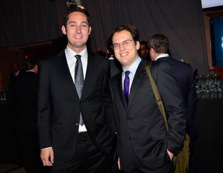 Kevin Systrom og Mike Krieger.
