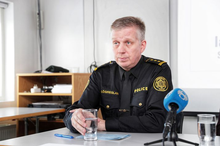 Víðir Reynisson, yfirlögregluþjónn hjá embætti Ríkislögreglustjóra.