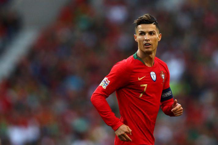 Ronaldo í leiknum gegn Hollandi.
