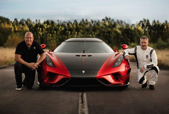 Christian von Koenigsegg, Koenigsegg Regera Hybrid og Sonny Persson
