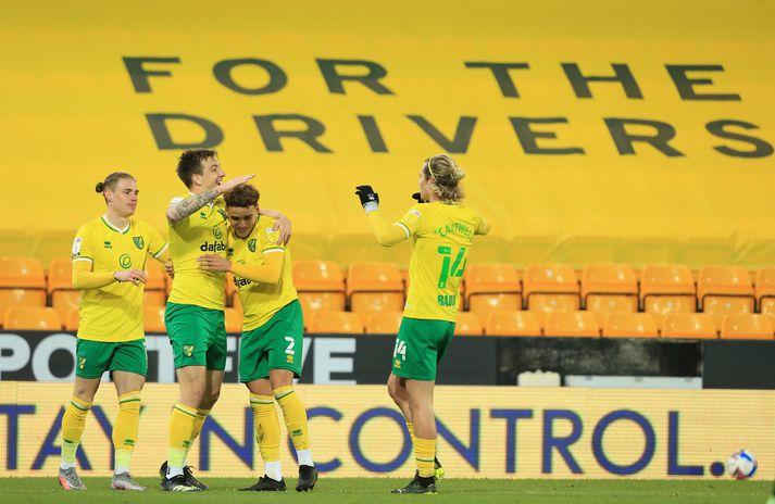 Norwich spilar gegn Bournemouth í kvöld. Bournemouth er enn í baráttu um að tryggja sér sæti í umspilinu.