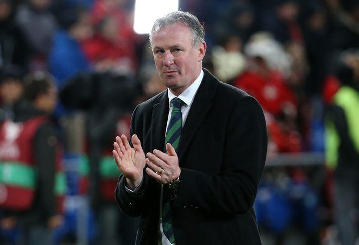 Michael O'Neill er í guðatölu á N-Írlandi.