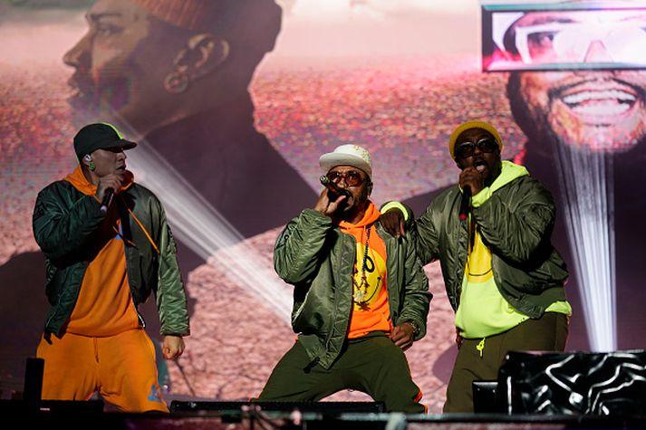 Það bíða margir spenntir eftir Black Eyed Peas.