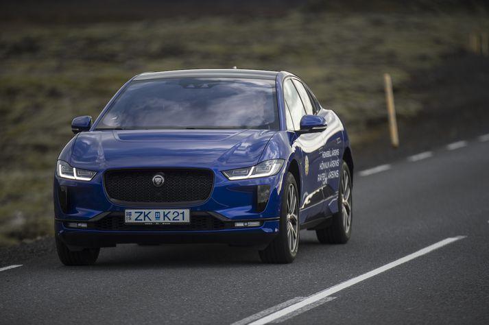 Jaguar I-Pace hlaut nafnbótina bíll ársins 2020.
