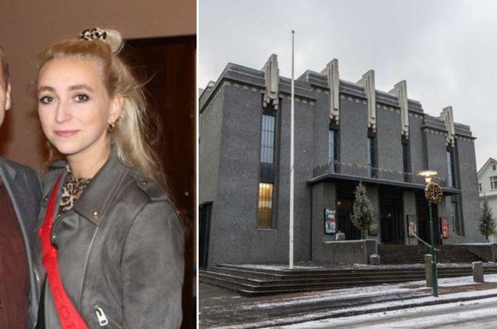 Ebba Katrín mun fara með hlutverk Júlíu.