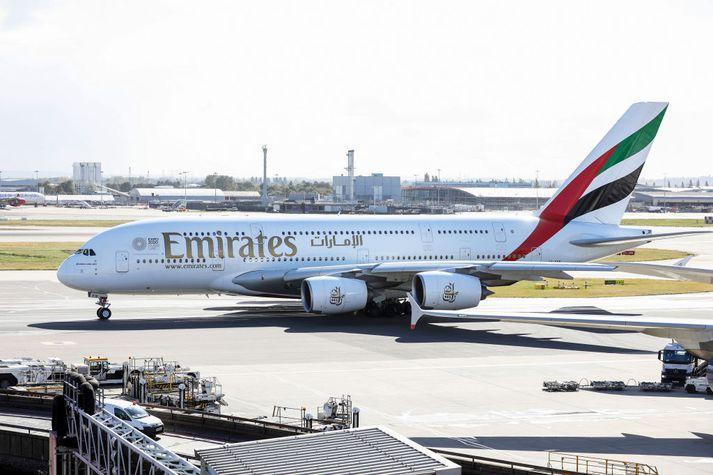 Emirates er eitt stærsta flugfélag í heimi.