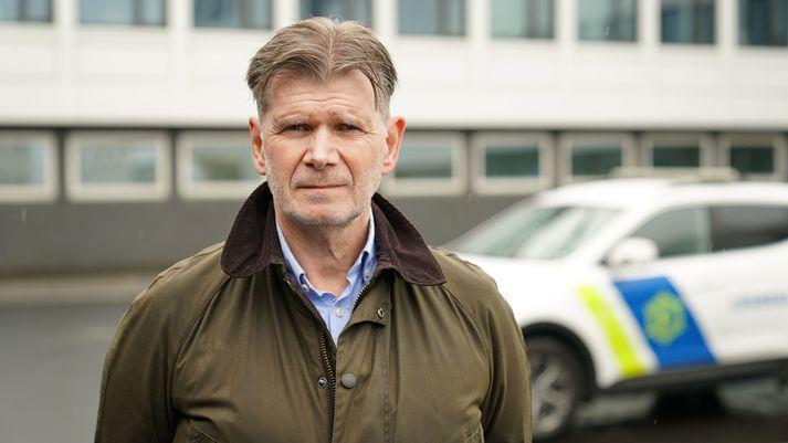 Grímur Grímsson yfirlögregluþjónn á rannsóknarsviði Lögreglunnar á höfuðborgarsvæðinu segir rannsókn málsins í fullum gangi.