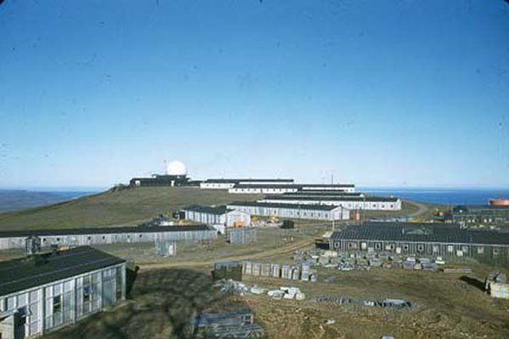 Eftirlitsstöð var á Heiðarfjalli á Langanesi á vegum Bandaríkjahers frá 1954 til 1970.