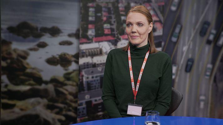 Svala Jóhannsdóttir, verkefnisstýra Frú Ragnheiðar í Víglínunni í dag.