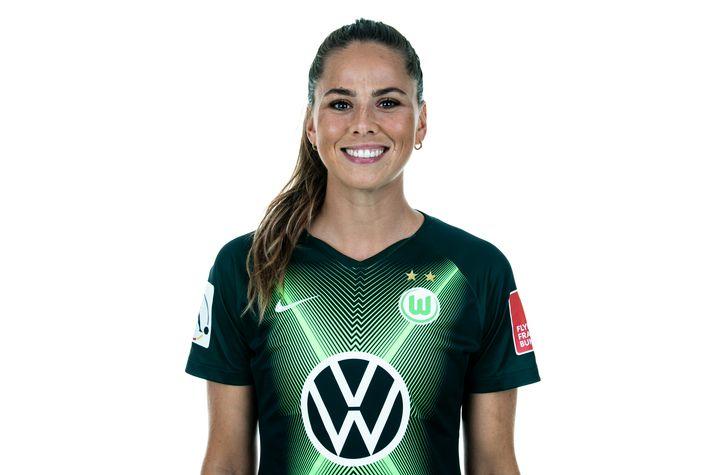Sara var á sínum stað í byrjunarliði Wolfsburg.