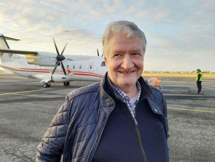 Hörður Guðmundsson, eigandi Ernis.