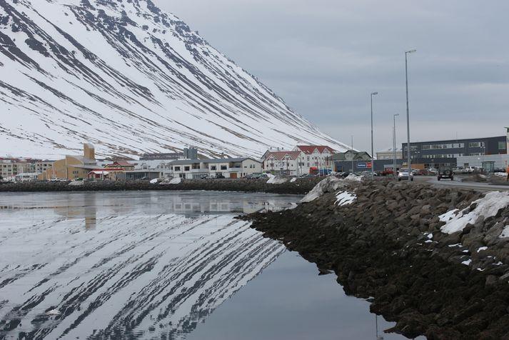 Ísfirðingar mega gera ráð fyrir snjókomu á fimmtudag.