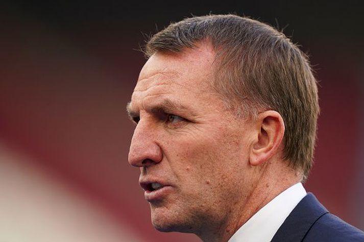 Rodgers er með Leicester í Meistaradeildarsæti og undanúrslitum enska bikarsins eins og stendur.
