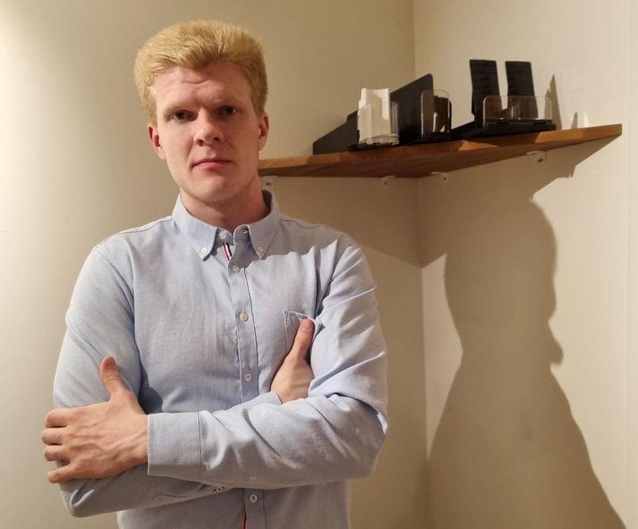 Ástþór Sindri Eiríksson, framkvæmdastjóri Eiríksson Heildsölu segir mikil tækifæri felast í þeim sýnileika sem hillukerfið bjóði upp á.