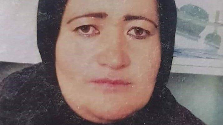 Banu Negar starfaði sem lögreglukona í Afganistan.