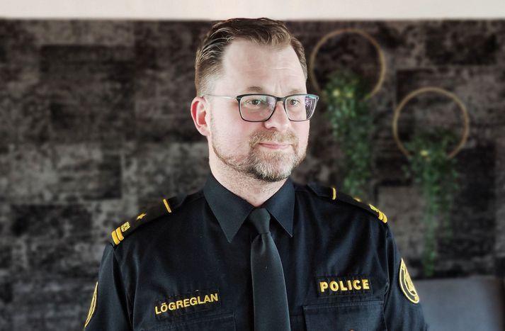 Einar Guðberg Jónsson, lögreglufulltrúi hjá lögreglunni á höfuðborgarsvæðinu.