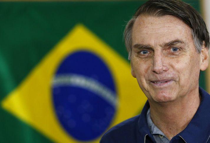 Jair Bolsonaro á marga pólitíska andstæðinga en stuðningsmenn hans eru að sama skapi margir enda líta þeir á hann sem bjargvætt landsins.
