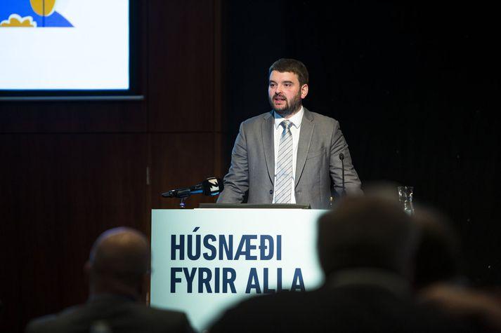 Ásmundur Einar Daðason félagsmálaráðherra.