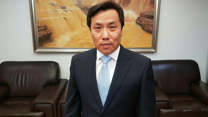 Jin Zhijian, sendiherra Kína á Íslandi