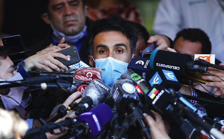 Leopoldo Luque er nú undir grun um að hafa á einn eða annan hátt stuðlað að láti Diego Armando Maradona.