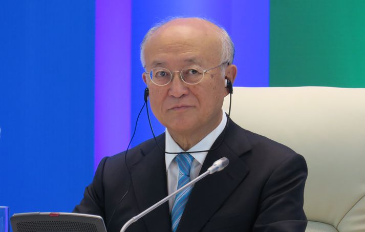 Yukyia Amano, yfirmaður IAEA