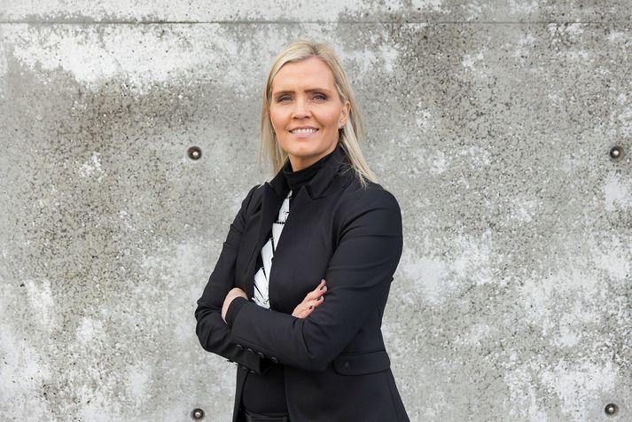 Sesselía Birgisdóttir framkvæmdastjóri þjónustu og markaðsmála hjá Póstinum.