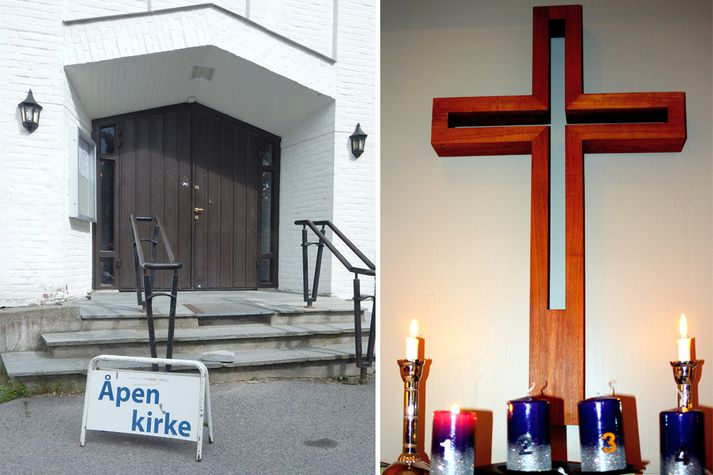 Nordberg-kirkja í Noregi.