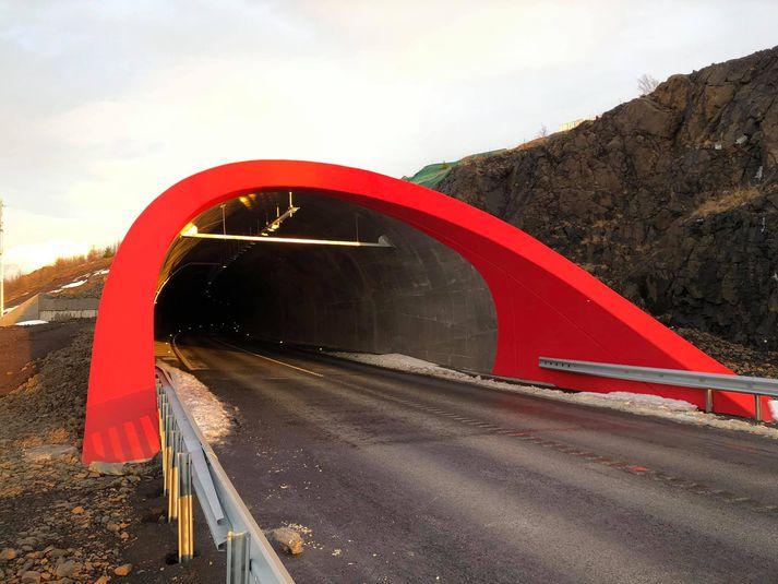 Vaðlaheiðargöng voru opnuð í lok árs 2018.