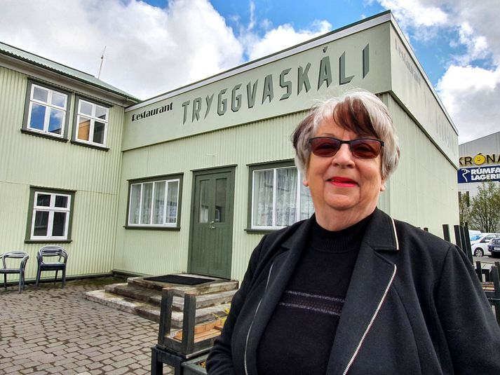 Bryndís Brynjólfsdóttir, sem er fædd og uppalinn í Tryggvaskála á Selfossi.