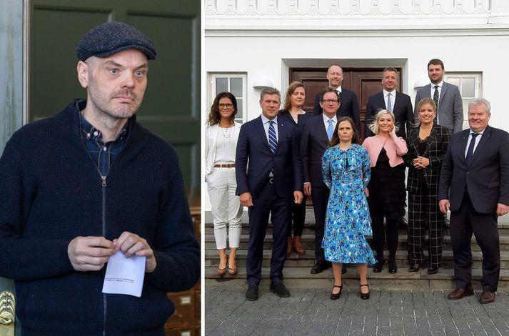 Kafli úr væntanlegri bók Björns Inga Hrafnssonar var birtur í dag.