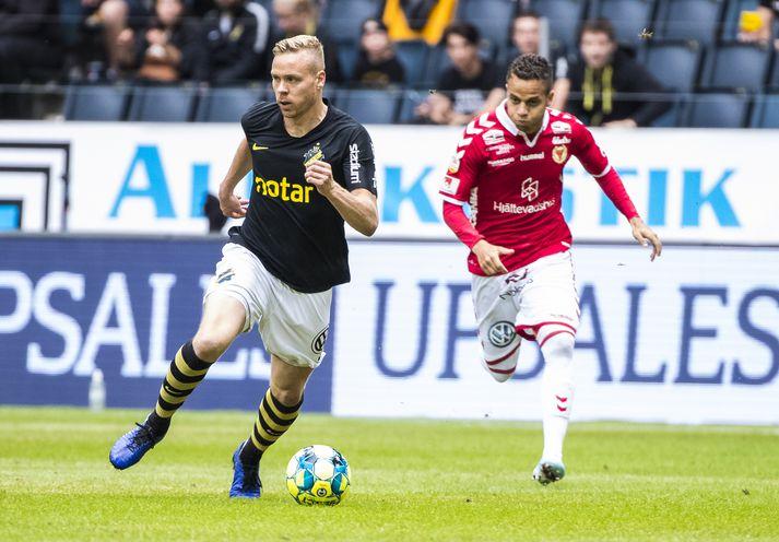 Kolbeinn í leik með AIK.