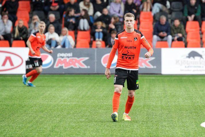 Valdimar Þór Ingimundarson og liðsfélagar mæta KA í kvöld í beinni útsendingu á Stöð 2 Sport.