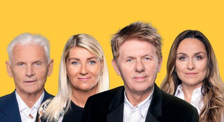 Brynjólfur Ingvarsson, Katrín Sif Árnadóttir, Jakob Frímann Magnússon og Diljá Helgadóttir.