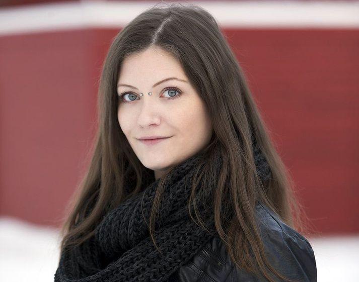 Ella hefur heklað síðan 2012 og heklar nú flestar jólagjafirnar.