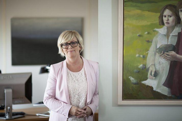 Birna Einarsdóttir, bankastjóri Íslandsbanka.