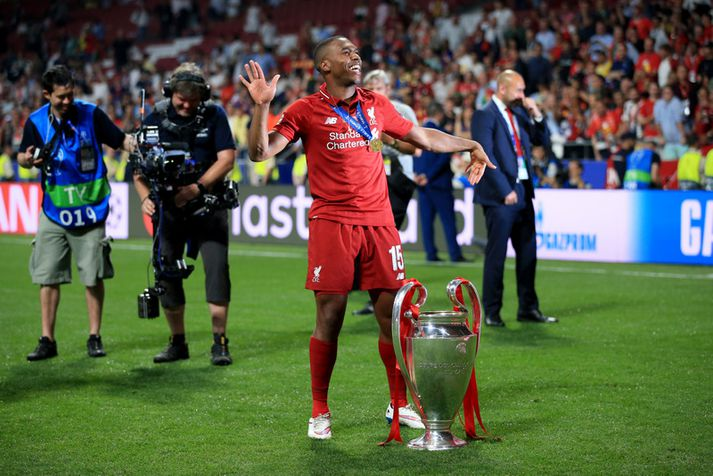 Daniel Sturridge endaði Liverpool ferilinn með því að vinna Meistaradeildina.
