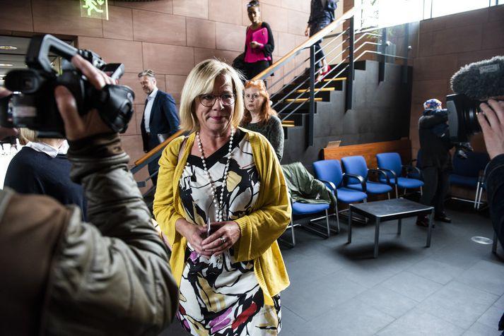 Vigdís Hauksdóttir borgarfulltrúi.