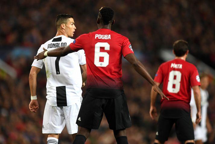 Ronaldo vill fá Pogba til Juventus