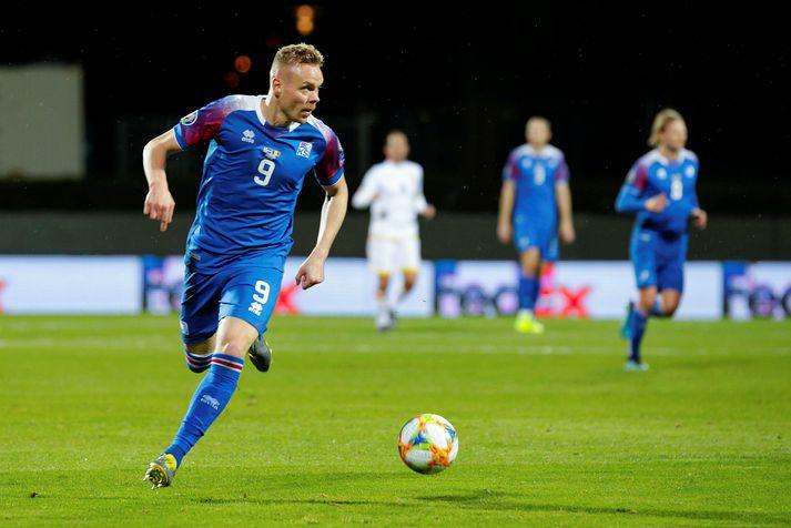 Kolbeinn Sigþórsson verður ekki með íslenska landsliðinu gegn Rúmeníu.